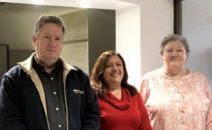 Maintenance Team: Gary, Jenni and Serina