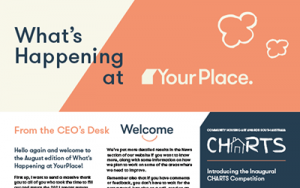 What's Happening at YourPlace: August 2021
