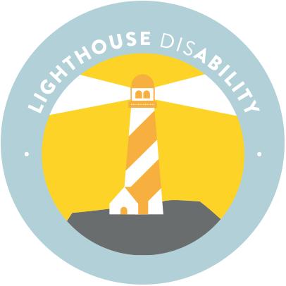 Lighthouse Disability Logo